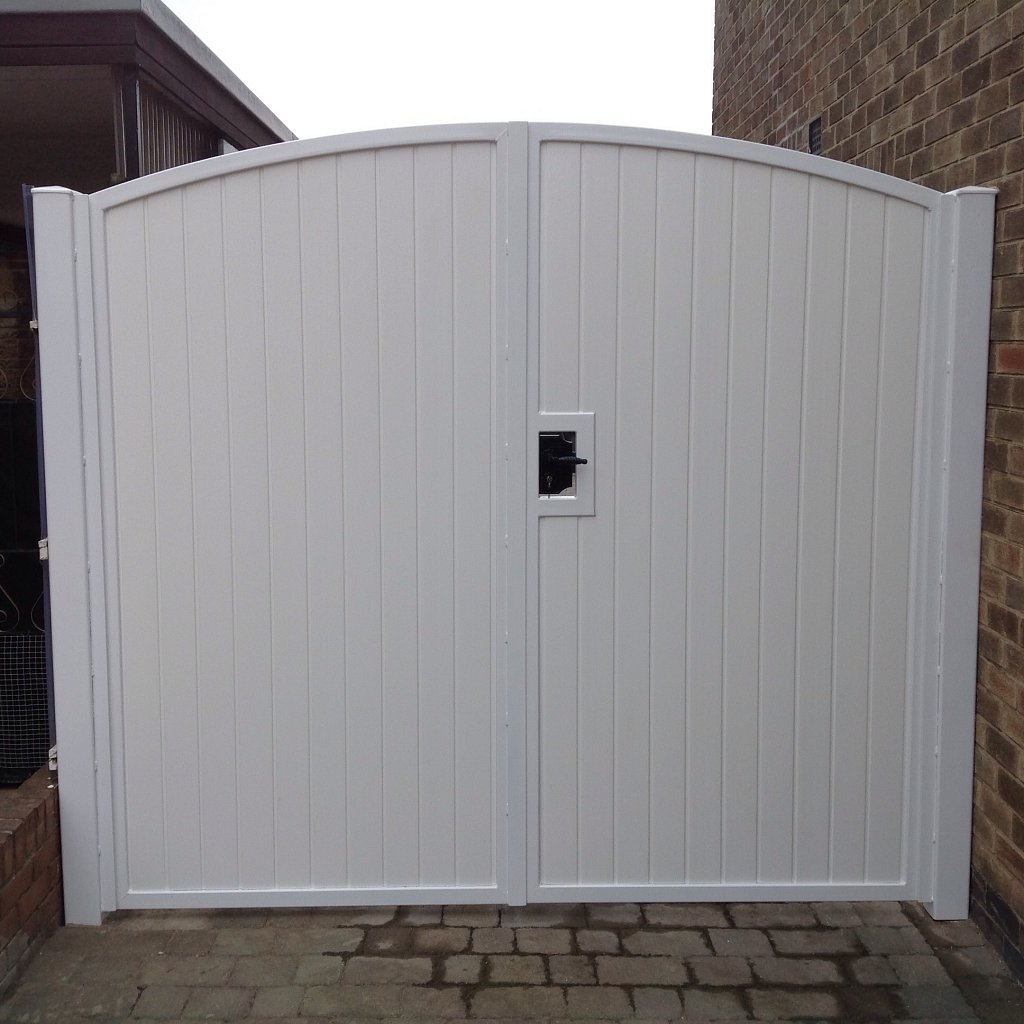 UPVC double gates